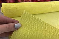 Бумага-креп №28 Жёлтый