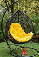 Подвесное кресло-шар со стойкой Джесси, подвесные висячие кресла яйцо и садовые качели