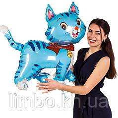 Фольгированная фигура Котик