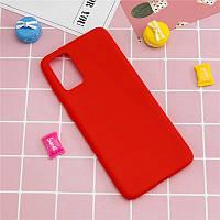 Чехол Fiji Soft для Realme 7 Pro силикон бампер красный