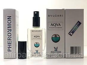 Мужские минипарфумы с феромонами Bvlgari Aqva Pour Homme Pheromon 60 ml копия
