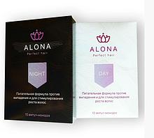 Alona Perfect Hair Ампулы против выпадения и для стимулирования роста волос День-Ночь для восстановления