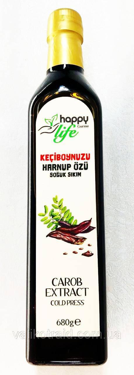Экстракт рожкового дерева.Happylife Organik,холодный отжим, 680  гр.  Турция