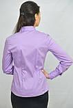 Классическая блуза фиолетового цвета, фото 2