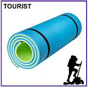 Каремат для туризма Турист 1800х600х10 мм