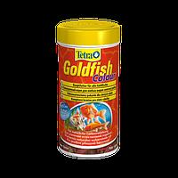 Корм для аквариумных рыб Tetra Gold fish Colour 100 мл хлопья для улучшения окраски золотых рыбок (183742)