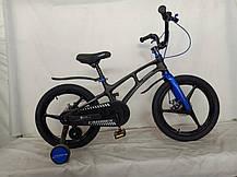 """Дитячий велосипед Crosser MAGN BIKE 16"""" магнієва рама білий, фото 3"""