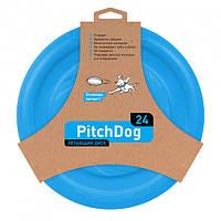 62472 Игрушка для собак Collar PitchDog 24 см Голубая (4823089302805) (62472), фото 1