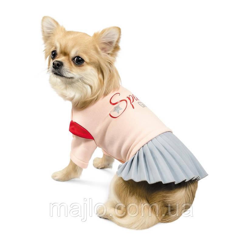 """Pet Fashion Костюм-платье для девочек """" СПЕЙС """" XXS"""