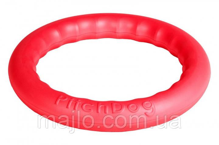 62387 Кільце для апортировки Collar PitchDog 30 28 x 4 см Рожеве (62387)
