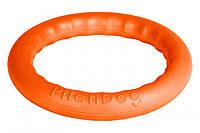 62384 Кільце для апортировки Collar PitchDog 30 28 x 4 см Оранжеве (62384)