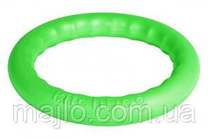 62385 Кольцо для апортировки Collar PitchDog 30 28 x 4 см Салатовое (62385)