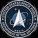 Футболка мужская  7.62 Design  Космические Силы США цвет тёмно -серая  U.S. Space Force Battlespace, фото 3