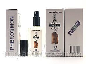Мужские минипарфумы с феромонами Paco Rabanne 1 Million Prive Pheromon 60 ml копия