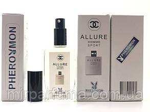 Мужские минипарфумы с феромонами Chanel Allore Homme Sport Pheromon 60 ml копия