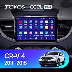 Штатная магнитола Teyes Honda CRV (2011-2018) Android