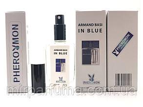 Мужские минипарфумы с феромонами Armand Basi In Blue Pheromon 60 ml копия