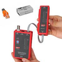 UT-681C кабельный тестер UNI-T для проверки различных видов кабелей RJ-45, RJ-11, BNC