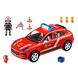 Playmobil 70277 Серия City Action  Порш Макан  Пожарная бригада Porsche Macan S Fire Brigade