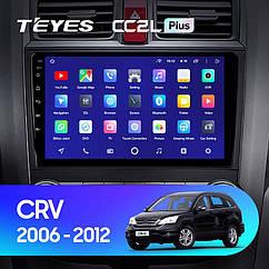 Штатная магнитола Teyes Honda CRV (2006-2012) Android