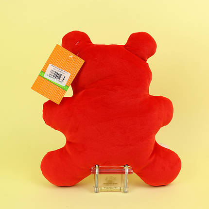 00284-147крас Мягкая игрушка мармеладный мишка Валера красный 30 см тм Копиця, фото 2
