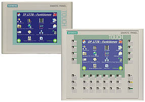 Замена сенсора, корпуса, ремонт Siemens SIMATIC Сенсорная панель оператора OP177B PN/DP, 6AV6642-0DA01-1AX1