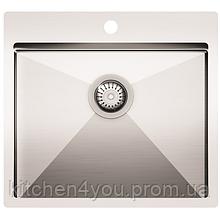 Кухонная мойка из нержавеющей стали 550x505 мм. AquaSanita LUN100N