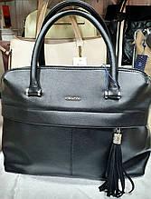 Женская черная сумка Люкс 33*25 см
