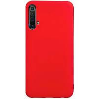 Чехол Fiji Soft для Realme X50 / X50m силикон бампер красный