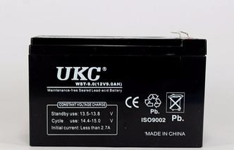 Аккумулятор АКБ 12 В, 9А для охранных и пожарных сигнализаций