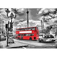 """Картина по номерам """"Яркий автобус"""" рисование по номерам картини по номерам картины по номерам для взрослых"""