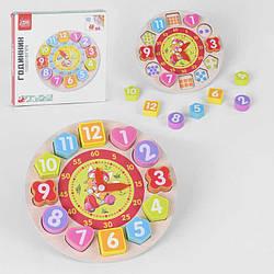 """Гр Дерев'яна гра """"Годинник"""" 34737 (24) """"Fun Game"""", в коробці"""