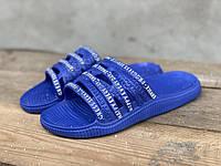 Шльопанці жіночі Прогрес 131 синій