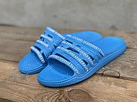 Шльопанці жіночі Прогрес 131 блакитний