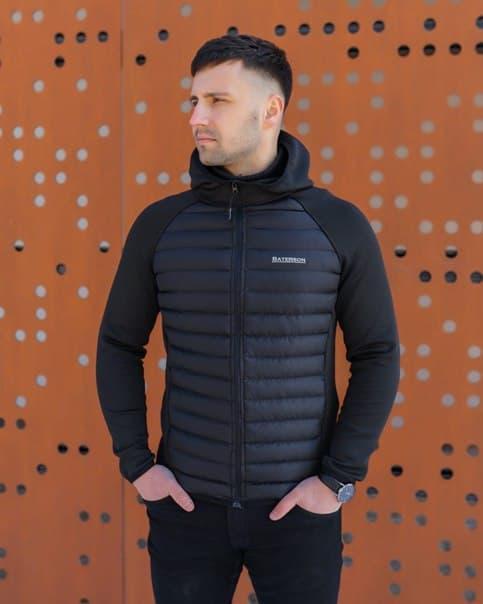 Черная мужская куртка Baterson Face Турция