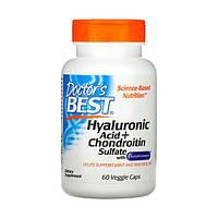Гиалуроновая кислота с сульфатом хондроитина BioCell Collagen Doctor's Best 60 капсул
