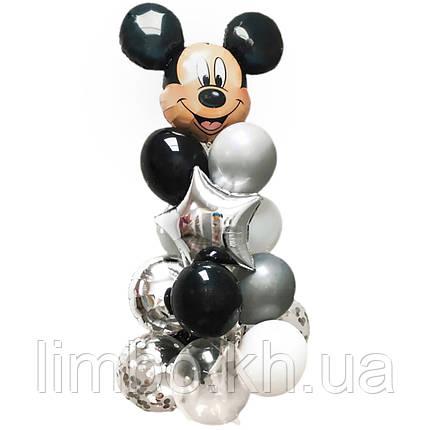Шары на день рождения мальчику с фигурой Микки Маус, фото 2