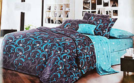 Двуспальный комплект постельного белья бязь голд    Двохспальна постільна білизна   Постельное белье