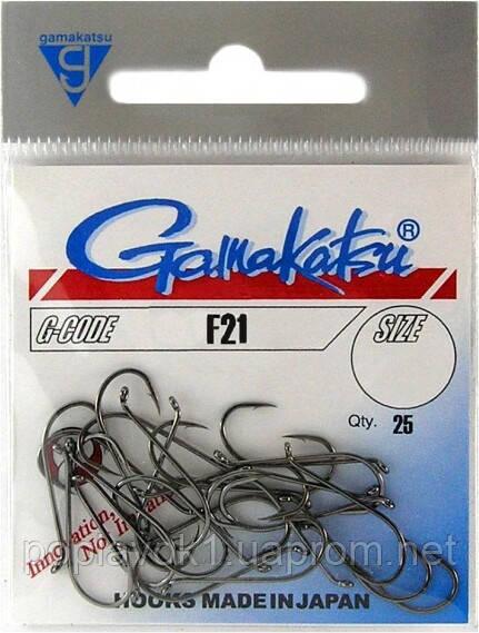 Гачок Gamakatsu F21 25шт (№6 25шт)