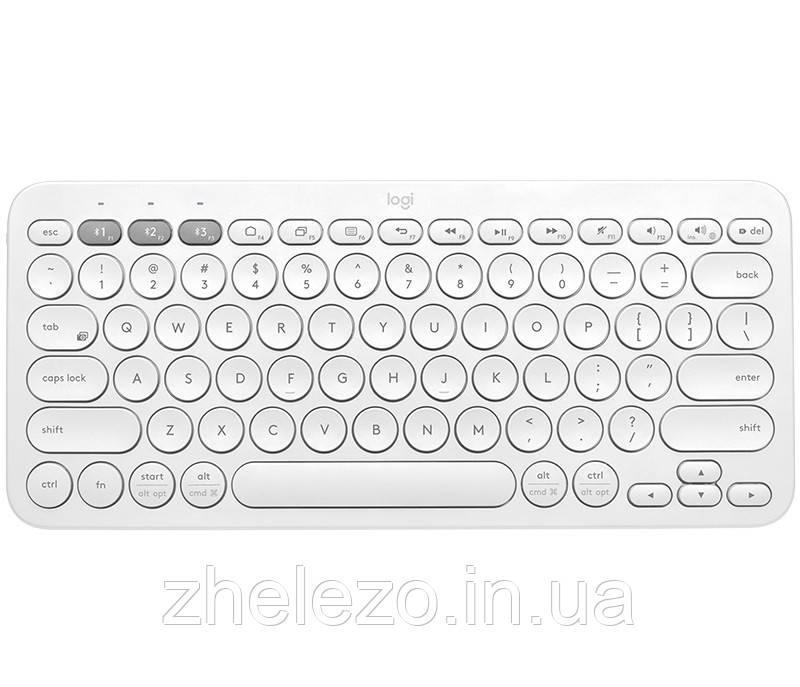 Клавиатура Logitech K380 Multi-Device Bluetooth White USB (920-009589)