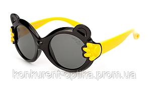 Очки-мишки для детей защитные от солнца полароид