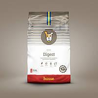 Сухой корм для собак гипоаллергенный шведский 12.5кг Husse Digest Sensitive