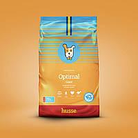 Сухой корм для собак крупных и гигантских пород шведский 15 кг Husse Optimal Giant