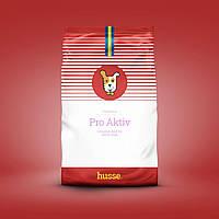 Сухой корм для собак активных шведский 20 кг Husse Pro Aktiv