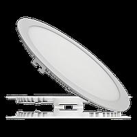 Светильник светодиодный встраиваемый (даунлайт)ЛЕД ДЕЛЬТА 18 Вт/840-020, 225 мм ЛЮМЕН