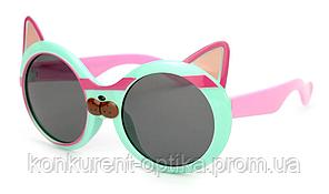 Очки для детей защитные от солнца в форме котика полароид