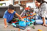 Трек Хот Вілс Автомийка Водонапірна башта FTB67 Mattel Hot Wheels Ultimate Gator Car Wash, фото 3