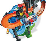 Трек Хот Вілс Автомийка Водонапірна башта FTB67 Mattel Hot Wheels Ultimate Gator Car Wash, фото 4