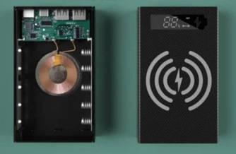 Корпус коробка Qi CX5-Qi 18650х5 Зарядное устройство Power Bank