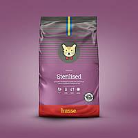 Сухой корм для стерилизованных котов и кошек шведский 7 кг Husse Exclusive Sterilised